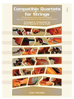 Compatible Quartets For Strings - Violin Books | Violin