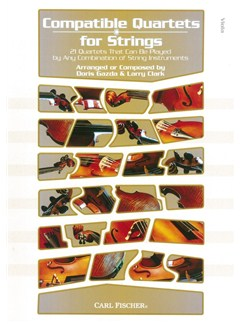 Compatible Quartets For Strings - Viola Books | Viola