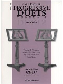 Carl Fischer Progressive Duets Volume 2 - Violin Books | Violin (Duet)