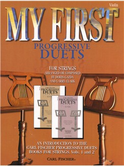 My First Progressive Duets - Violin Books | Violin (Duet)
