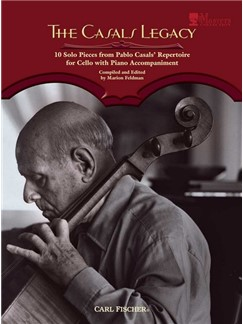 The Casals Legacy (Book/CD) Books and CDs | Cello, Piano Accompaniment