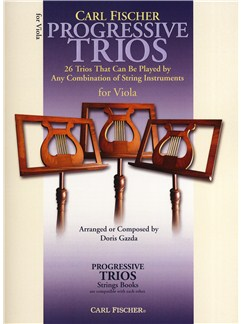 Progressive Trios - 26 Trios For Any Combination Of String Instruments (Viola) Books | Viola