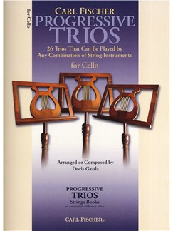 Progressive Trios - 26 Trios For Any Combination Of String Instruments (Cello) Books | Cello