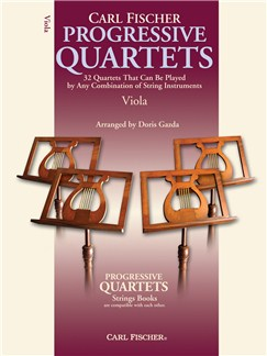 Progressive Quartets For Strings - Viola Books | Viola