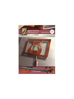 Repertoire Classics For Cello Books and CDs | Cello