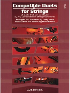 Compatible Duets For Strings - Violin Books | Violin (Duet)