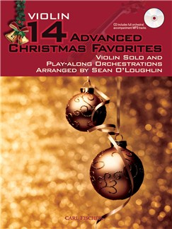 14 Advanced Christmas Favourites - Violin Books and CDs | Violin