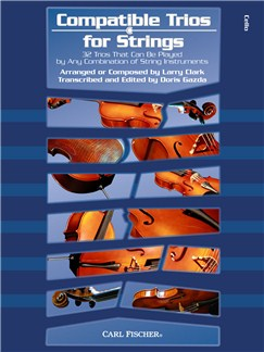 Larry Clark: Compatible Trios for Strings - Cello Books | Cello, String Ensemble