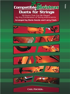Compatible Christmas Duets For Strings: Viola Books | Viola