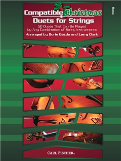 Compatible Christmas Duets For Strings: Double Bass Books | Double Bass