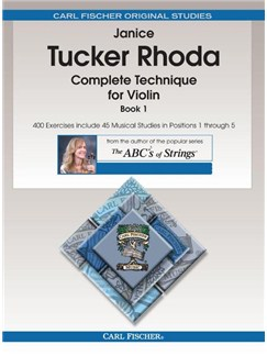 Janice Tucker Rhoda: Complete Technique For Violin - Book 1 Books | Violin