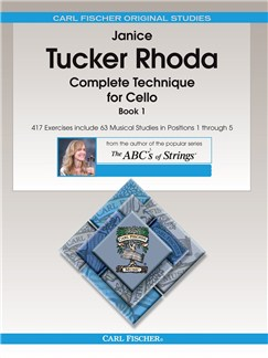 Janice Tucker Rhoda: Complete Technique For Cello Book 1 Books | Cello