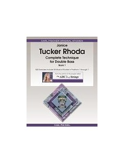 Janice Tucker Rhoda: Complete Technique For Double Bass - Book 1 Books | Double Bass