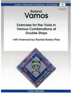 Roland Vamos: Exercises For The Viola In Various Combinations Of Double Stops Books and DVDs / Videos | Viola