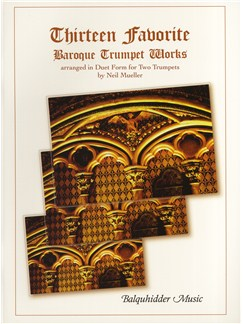 Thirteen Favourite Baroque Trumpet Works Books | Trumpet (Duet)