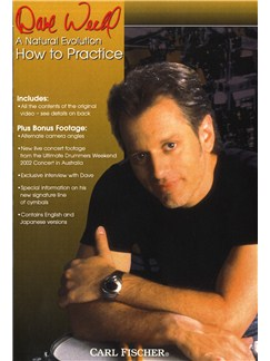Dave Weckl: A Natural Evolution - How To Practice DVDs / Videos | Drums