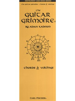 Adam Kadmon: The Guitar Grimoire - Chords And Voicings (Case Book) Books | Guitar