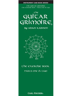 Adam Kadmon: The Guitar Grimoire - The Exercise Book (Parts One & Two) Books | Guitar