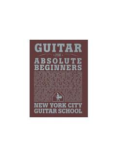 Dan Emery: Guitar For Absolute Beginners (New York City Guitar School) Books | Guitar