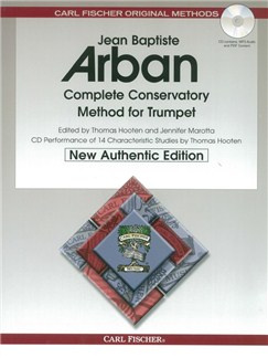 Jean Baptiste Arban: Complete Conservatory Method For Trumpet (Book/CD) Books and CDs | Trumpet