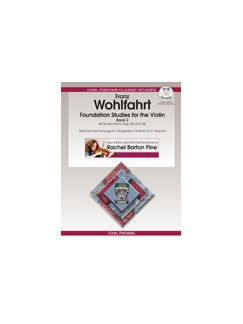 Franz Wohlfahrt: Foundation Studies For The Violin - Volume 2 (Book/DVD) Books and DVDs / Videos | Violin