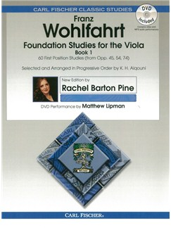 Franz Wohlfahrt: Foundation Studies For The Viola - Book 1 Books and DVDs / Videos | Viola