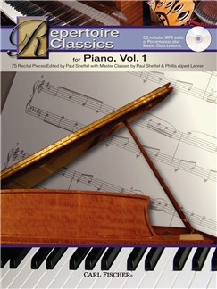 Repertoire Classics - Piano (Volume 1) Books and CDs | Piano