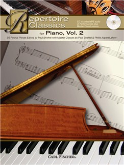 Repertoire Classics - Piano (Volume 2) Books and CDs | Piano