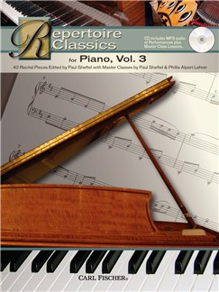 Repertoire Classics - Piano (Volume 3) Books and CDs | Piano