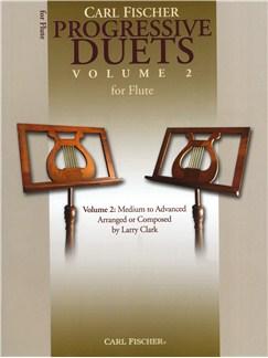 Carl Fischer Progressive Duets Volume 2 - Flute Books | Flute