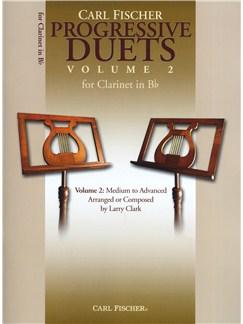 Carl Fischer Progressive Duets Volume 2 - Clarinet Books | Clarinet