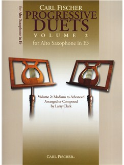Carl Fischer Progressive Duets Volume 2 - Alto Saxophone Books | Alto Saxophone