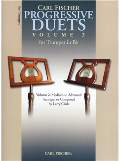 Carl Fischer Progressive Duets Volume 2 - Trumpet Books | Trumpet