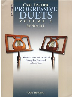 Carl Fischer Progressive Duets Volume 2 - Horn In F Books | French Horn