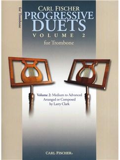 Carl Fischer Progressive Duets Volume 2 - Trombone Books | Trombone