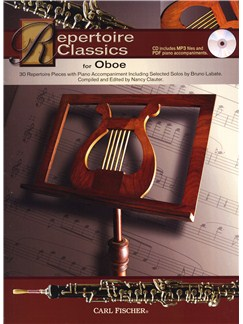 Repertoire Classics - Oboe Books and CDs | Oboe, Piano Accompaniment