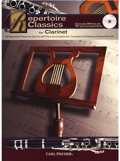 Repertoire Classics - Clarinet Books and CDs | Clarinet, Piano Accompaniment