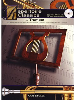Repertoire Classics - Trumpet Books and CDs | Trumpet, Piano Accompaniment