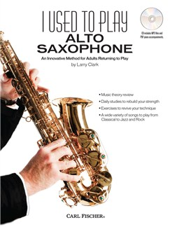 I Used to Play Alto Saxophone Books and CDs | Alto Saxophone