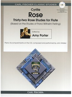 32 Rose Etudes For Flute Books and CDs | Flute