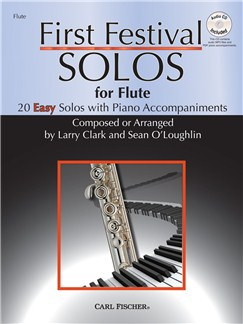 Larry Clark/Sean O'Loughlin: First Festival Solos - Flute Books and CDs | Flute, Piano Accompaniment
