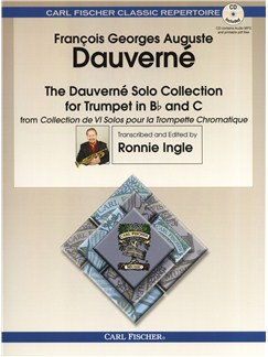 The Dauverné Solo Collection For Trumpet Books and CDs | Trumpet
