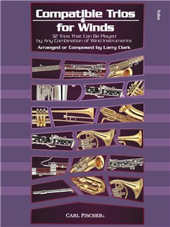 Larry Clark: Compatible Trios For Winds - Tuba Books | Tuba