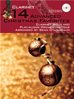 14 Advanced Christmas Favourites - Clarinet Books and CDs | Clarinet