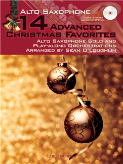 14 Advanced Christmas Favourites - Alto Saxophone Books and CDs | Alto Saxophone