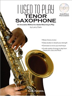 I Used to Play Tenor Saxophone Books and CDs | Tenor Saxophone