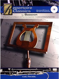 Repertoire Classics For Bassoon Books and CDs | Bassoon