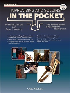 Cannata & Kennedy: Improvising And Soloing In The Pocket C Instruments - Book/CD Books and DVDs / Videos | C Instruments