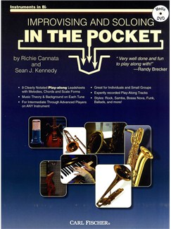 Cannata & Kennedy: Improvising And Soloing In The Pocket Bb Instruments - Book/CD Books and DVDs / Videos | B Flat Instruments