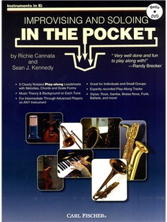 Cannata & Kennedy: Improvising And Soloing In The Pocket  Eb Instruments  - Book/CD Books and DVDs / Videos | E Flat Instruments
